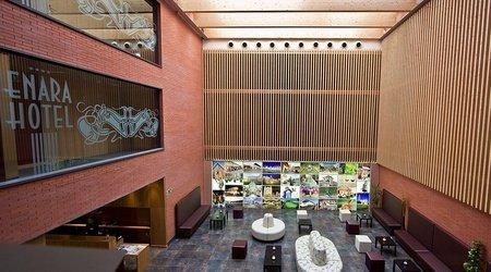 Lobby ele enara boutique hotel valladolid
