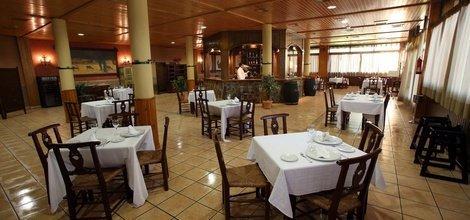 Restaurant puerta de monfragüe hotel ele malpartida de plasencia