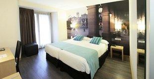 Double room with views ele enara boutique hotel valladolid