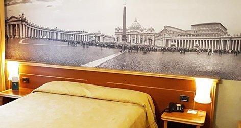 Superior rooms ele green park hotel pamphili rome, italy