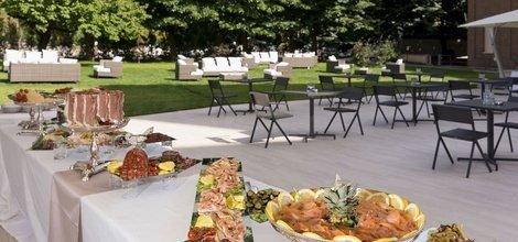 À la carte restaurant ele green park hotel pamphili rome, italy