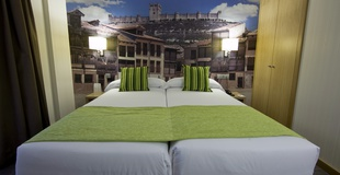 Family room ele enara boutique hotel valladolid