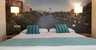 Double room with views ele enara boutique hotel valladolid