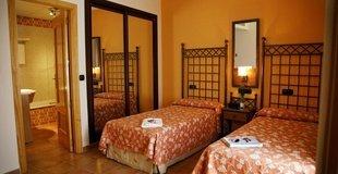 Double room ele santa bárbara sevilla hotel seville