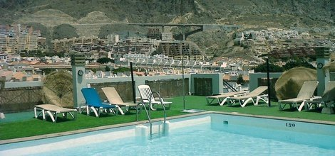 EXTERIOR POOL ELE Andarax Hotel