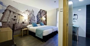 Double room ele enara boutique hotel valladolid