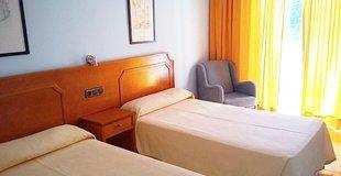 Double room with 1 or two beds ele don ignacio hotel san josé, almería