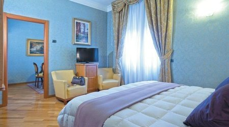 Suite ele green park hotel pamphili rome, italy