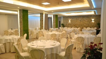Inside events room ele green park hotel pamphili rome, italy