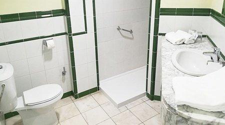 Bathroom ele andarax hotel aguadulce