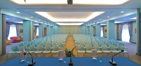 Meeting rooms ele green park hotel pamphili rome, italy
