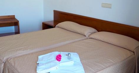 Double room ele acueducto hotel segovia