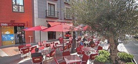 Enara terrace ele enara boutique hotel valladolid
