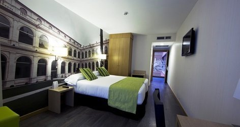 Double room ele enara boutique hotel valladolid