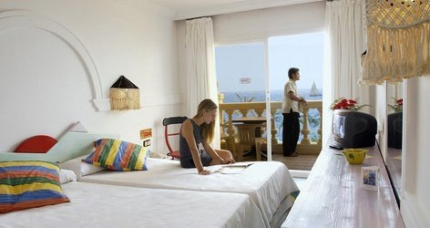 DOUBLE ROOM SEA VIEW ATH Portomagno Hotel