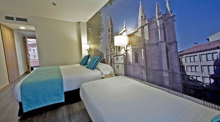 Triple room ele enara boutique hotel valladolid