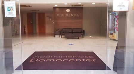 Reception ele domocenter apartments seville