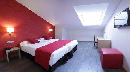 Standard room ele enara boutique hotel valladolid