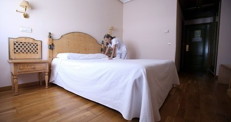 DOUBLE ROOM Puerta de Monfragüe Hotel ELE