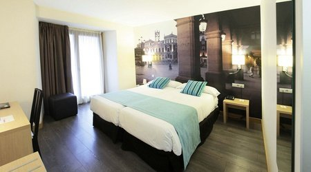 Standard room with views ele enara boutique hotel valladolid