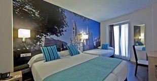 Triple room ele enara boutique hotel valladolid